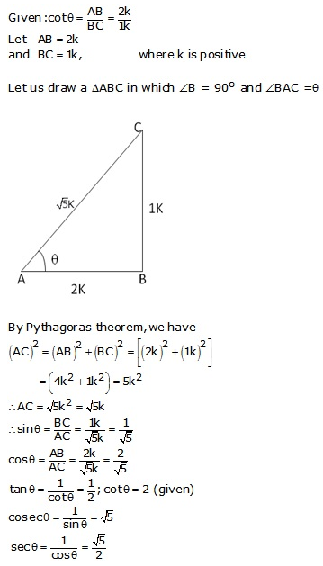 RS Aggarwal Solutions Class 10 Chapter 5 Trigonometric Ratios Ex 5 6