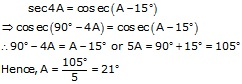 RS Aggarwal Solutions Class 10 Chapter 7Trigonometric Ratios of Complementary Angles Ex 7 50