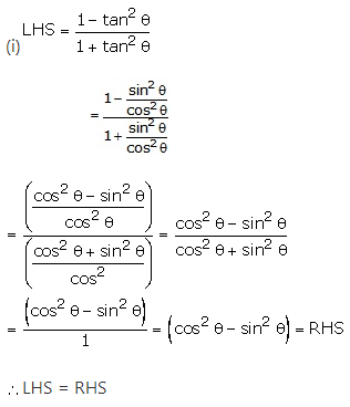RS Aggarwal Solutions Class 10 Chapter 8Trigonometric Identities Ex 8a 22