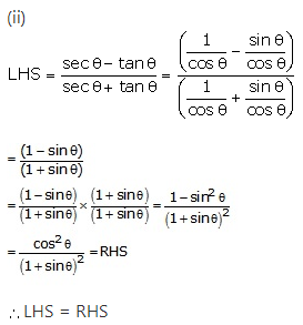 RS Aggarwal Solutions Class 10 Chapter 8Trigonometric Identities Ex 8a 27