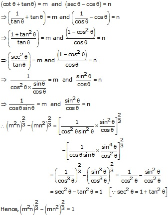 RS Aggarwal Solutions Class 10 Chapter 8 Trigonometric Identities Ex 8b 8