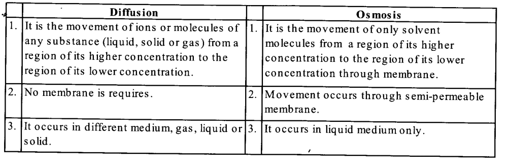 NCERT Solutions for Class 11 Biology Chapter 11 Transport in Plants 1
