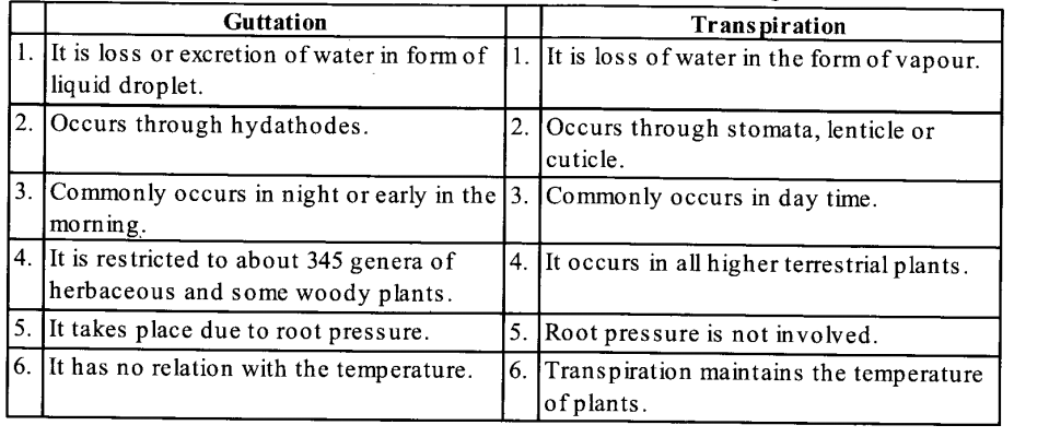 NCERT Solutions for Class 11 Biology Chapter 11 Transport in Plants 6