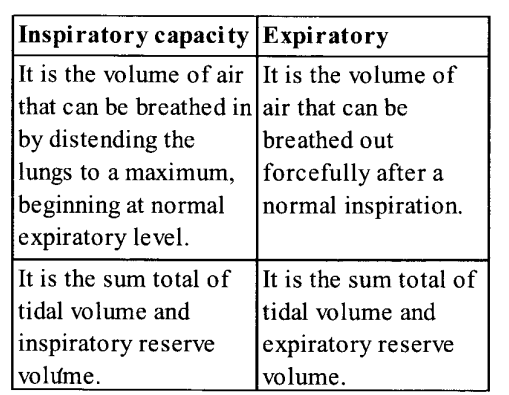 NCERT Solutions for Class 11 Biology Chapter 17 Breathing and Exchange of Gases 7