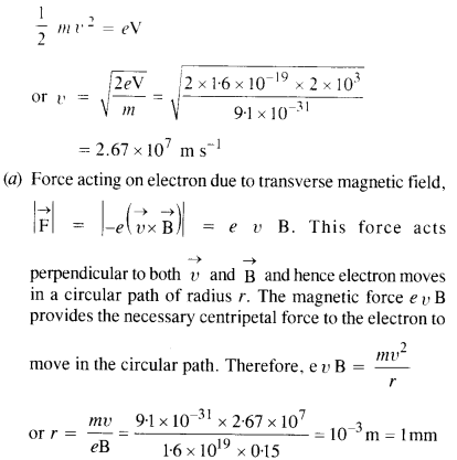 NCERT Solutions for Class 12 Physics Chapter 4 Moving Charges and Magnetism 21