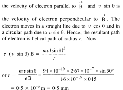 NCERT Solutions for Class 12 Physics Chapter 4 Moving Charges and Magnetism 22