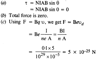 NCERT Solutions for Class 12 Physics Chapter 4 Moving Charges and Magnetism 31