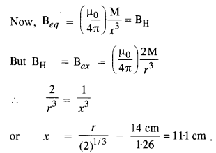 NCERT Solutions for Class 12 Physics Chapter 5 Magnetism and Matter 12