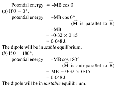 NCERT Solutions for Class 12 Physics Chapter 5 Magnetism and Matter 4