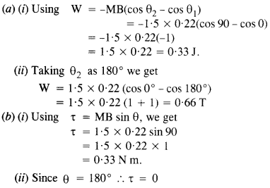 NCERT Solutions for Class 12 Physics Chapter 5 Magnetism and Matter 5