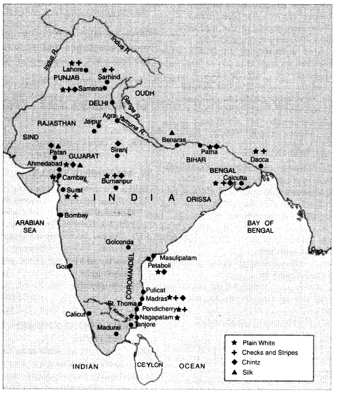 NCERT Solutions for Class 8 Social Science History Chapter 7 Weavers, Iron Smelters and Factory Owners 1