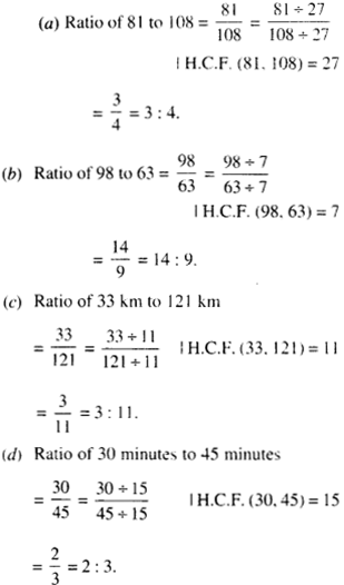 NCERT Solutions for Class 6 Maths Chapter 12 Ratio and Proportion 9