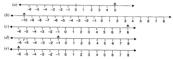 NCERT Solutions for Class 6 Maths Chapter 6 Integers 1