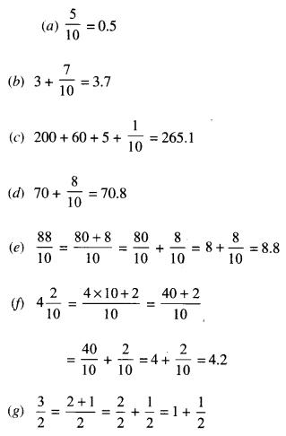 NCERT Solutions for Class 6 Maths Chapter 8 Decimals 3