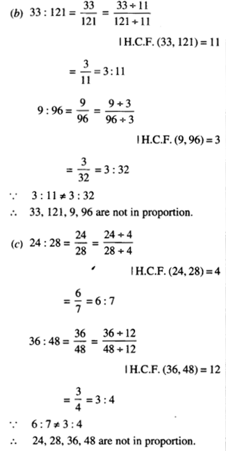 NCERT Solutions for Class 6 Maths Chapter 12 Ratio and Proportion 34