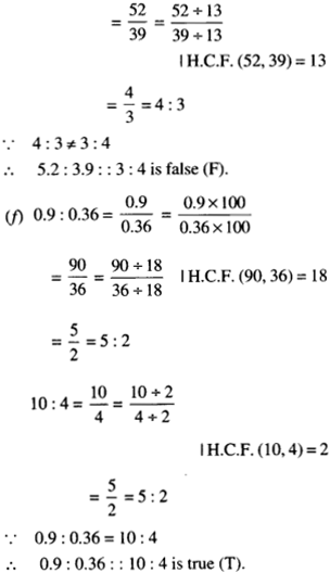 NCERT Solutions for Class 6 Maths Chapter 12 Ratio and Proportion 40