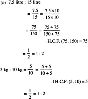 NCERT Solutions for Class 6 Maths Chapter 12 Ratio and Proportion 43
