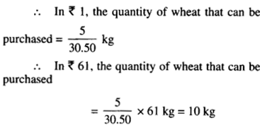 NCERT Solutions for Class 6 Maths Chapter 12 Ratio and Proportion 57