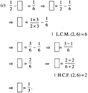 NCERT Solutions for Class 6 Maths Chapter 7 Fractions 107