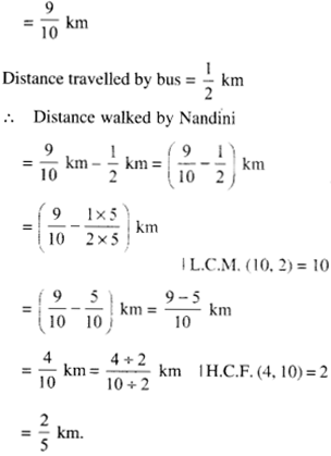 NCERT Solutions for Class 6 Maths Chapter 7 Fractions 113