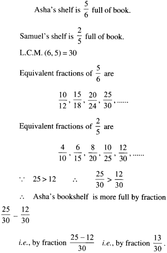 NCERT Solutions for Class 6 Maths Chapter 7 Fractions 114