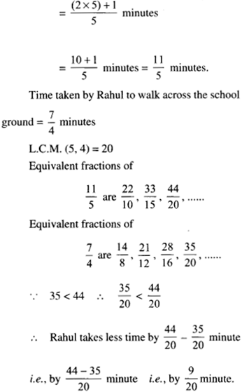 NCERT Solutions for Class 6 Maths Chapter 7 Fractions 115