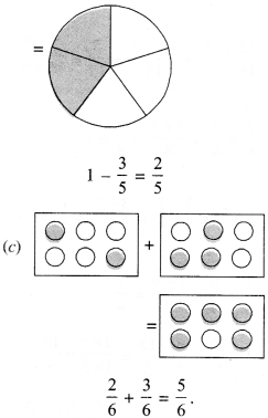 NCERT Solutions for Class 6 Maths Chapter 7 Fractions 86