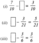 NCERT Solutions for Class 6 Maths Chapter 7 Fractions 91