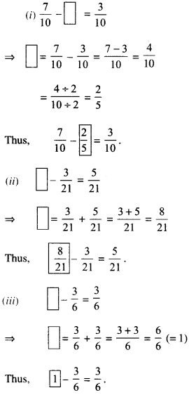 NCERT Solutions for Class 6 Maths Chapter 7 Fractions 93