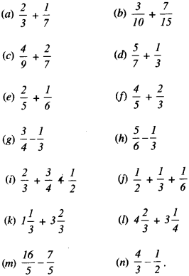 NCERT Solutions for Class 6 Maths Chapter 7 Fractions 96