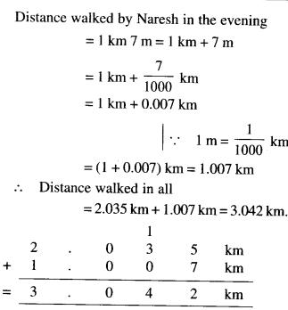 NCERT Solutions for Class 6 Maths Chapter 8 Decimals 43