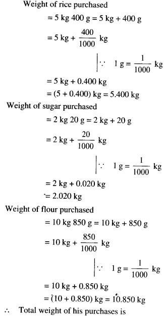 NCERT Solutions for Class 6 Maths Chapter 8 Decimals 46