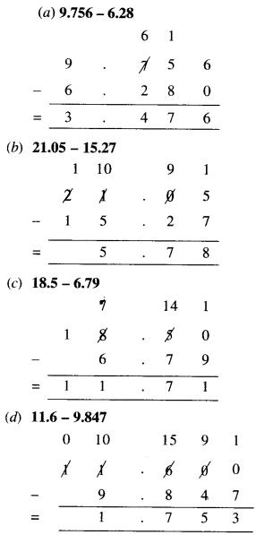NCERT Solutions for Class 6 Maths Chapter 8 Decimals 50