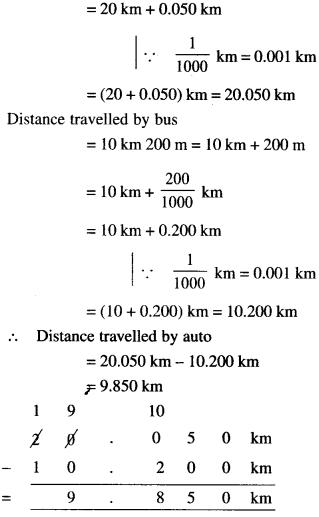 NCERT Solutions for Class 6 Maths Chapter 8 Decimals 54
