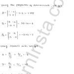 RD Sharma Class 12 Solutions Chapter 6 Determinants Ex 6.4 1.1