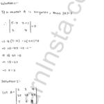 RD Sharma Class 12 Solutions Chapter 6 Determinants VSAQ 1.1