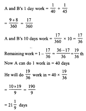 RD Sharma Class 8 Solutions Chapter 11 Time and Work Ex 11.1 15