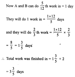 RD Sharma Class 8 Solutions Chapter 11 Time and Work Ex 11.1 19
