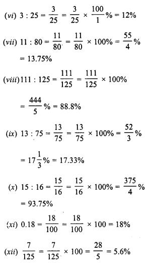 RD Sharma Class 8 Solutions Chapter 12 PercentageEx 12.1 2