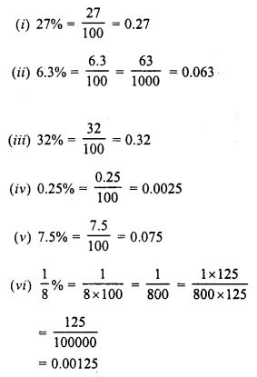 RD Sharma Class 8 Solutions Chapter 12 PercentageEx 12.1 5