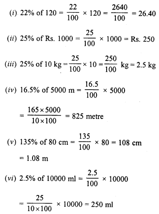 RD Sharma Class 8 Solutions Chapter 12 PercentageEx 12.2 1