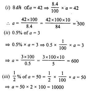 RD Sharma Class 8 Solutions Chapter 12 PercentageEx 12.2 2