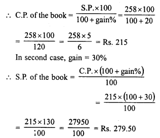 RD Sharma Class 8 Solutions Chapter 13 Profits, Loss, Discount and Value Added Tax (VAT)Ex 13.1 16