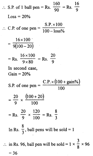 RD Sharma Class 8 Solutions Chapter 13 Profits, Loss, Discount and Value Added Tax (VAT)Ex 13.1 19