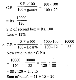 RD Sharma Class 8 Solutions Chapter 13 Profits, Loss, Discount and Value Added Tax (VAT)Ex 13.1 8