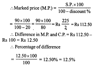 RD Sharma Class 8 Solutions Chapter 13 Profits, Loss, Discount and Value Added Tax (VAT)Ex 13.2 21