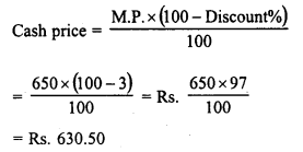 RD Sharma Class 8 Solutions Chapter 13 Profits, Loss, Discount and Value Added Tax (VAT)Ex 13.2 7