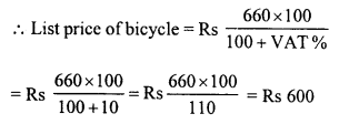 RD Sharma Class 8 Solutions Chapter 13 Profits, Loss, Discount and Value Added Tax (VAT)Ex 13.3 15