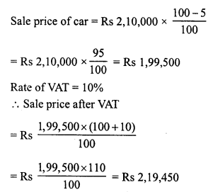 RD Sharma Class 8 Solutions Chapter 13 Profits, Loss, Discount and Value Added Tax (VAT)Ex 13.3 18