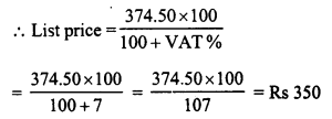 RD Sharma Class 8 Solutions Chapter 13 Profits, Loss, Discount and Value Added Tax (VAT)Ex 13.3 2